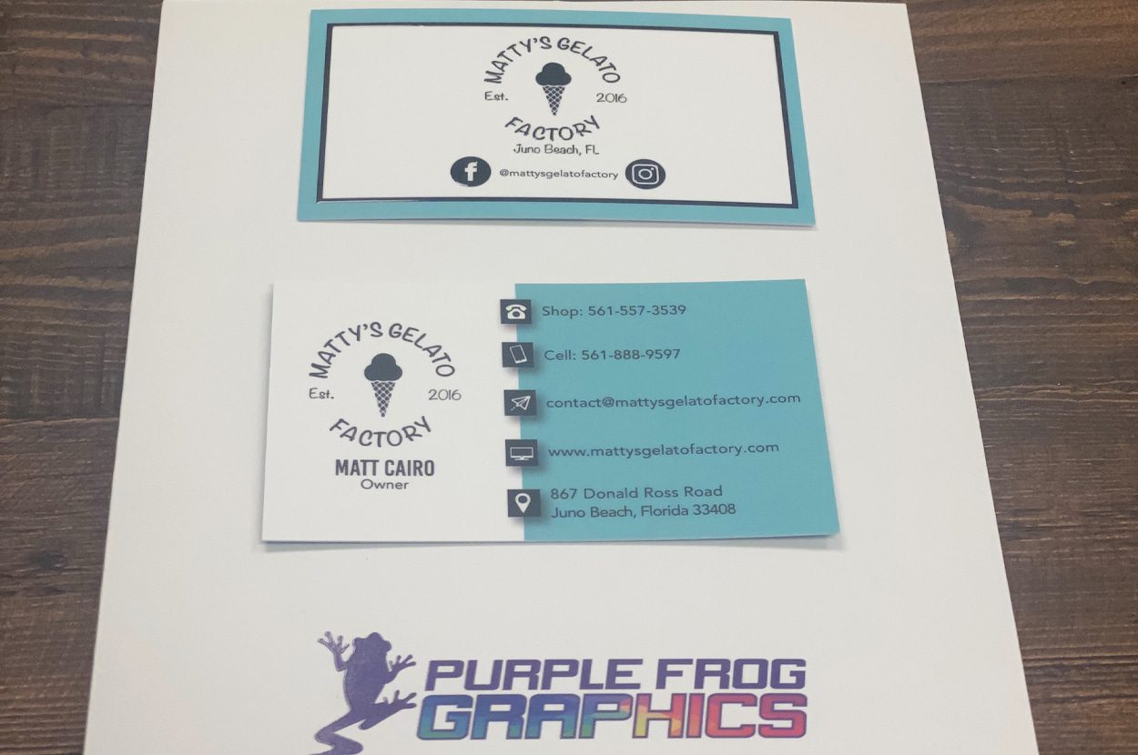 Business Printing services by Purple Frog graphics